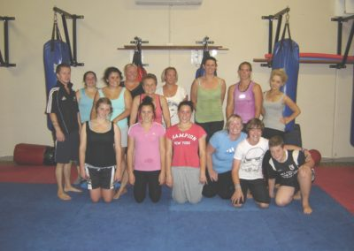 Boxing class past & present