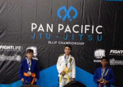 Hayden at the Pan Pacs